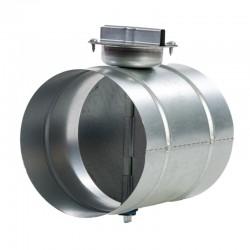 Regelklep ø160mm + koppelstuk