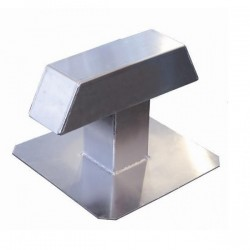 Duo Aluminium Dakdoorvoer