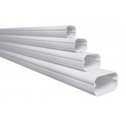 Goot Slimduct SD 77 mm / wit / 2 meter