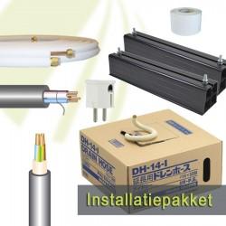 """Installatie pakket Basic - 10 meter - 1/4""""-1/2"""""""
