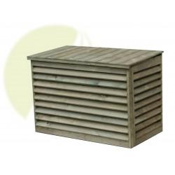 Houten beschermkooi airco buitenunit - Medium