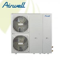 Airwell PAC BT MB 12kW Monobloc - 3 fase - Koelen & Verwarmen - 7HP061022