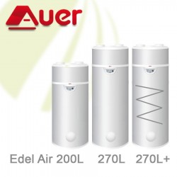 Auer Edel Air 270L Warmtepompboiler