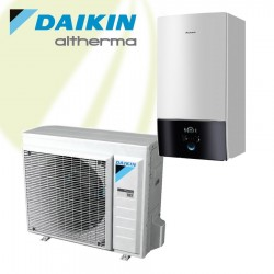 Daikin Altherma 3 LT 6kW Warmtepomp voor verwarmen en koelen met 400V heater