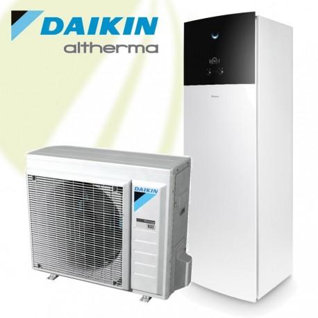 Daikin Altherma 3 LT 6kW Warmtepomp 400V met 230 liter boiler voor verwarmen en warm tapwater