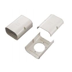 SJA-140 - gatverbindingsstuk voor gebruik met Slimduct SD goot systeem.