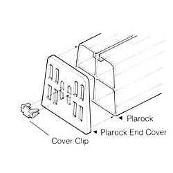 PRC-350N - set eindplaatjes voor opstellingsbalken
