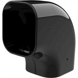 Tecnosystemi Excellens Zwart CP75 platte bocht