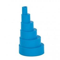 BlueDiamond excentrisch verloop zacht 6/38mm blauw