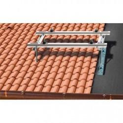 Rodigas MT600 RVS schuine dakconsole, verstelbaar