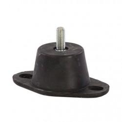 Trillingsdemper rubber voet AGB-45 draad/voet 45kg M8