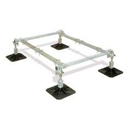 Big Foot frame 1,0x1,5m, 4 voeten, 2 crossbars
