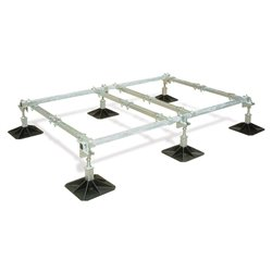 Big Foot frame 2,0x1,2m, 4 voeten, 4 crossbars