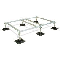 Big Foot frame 2,5x1,2m, 6 voeten, 4 crossbars