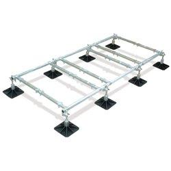 Big Foot frame 3,5x1,2m, 8 voeten, 6 crossbars