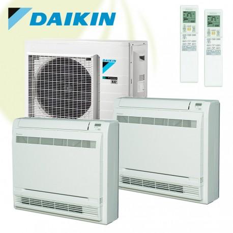 2x Daikin FVXM-A + 2MXM40N 4kW