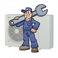 Installatieservice - Monobloc warmtepomp t/m 7 kW