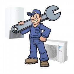 Installatieservice - Split warmtepomp zonder boiler