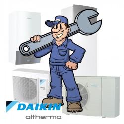 Inregelen warmtepomp door Daikin Heating Specialist