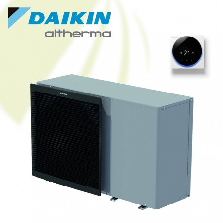 Daikin Altherma 3 M - 11 kW Monobloc Warmtepomp - Verwarmen en koelen. Met 3 kW Backup Heater