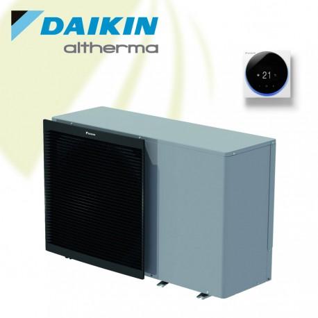 Daikin Altherma 3 M - 14 kW Monobloc warmtepomp voor verwarmen en koelen. Met 3 kW Backup Heater