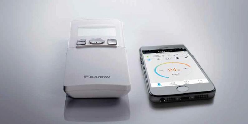 Totale controle met de gratis Daikin Online Controller App