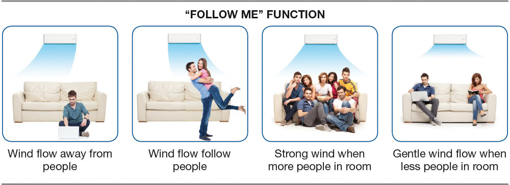 Follow me function