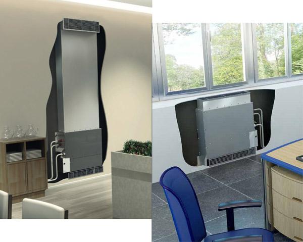 Inbouw - vloermodel Daikin FNQ-A