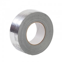 AFS Alu Ducttape 50m (75mmx40micron) zilver