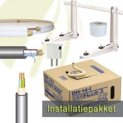 """Installatie pakket Basic - 5 meter - 1/4""""-3/8"""""""