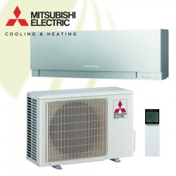 Mitsubishi Electric - WSH-EF25i Silver Zen Design - 2,5 kW Inverter Warmtepomp