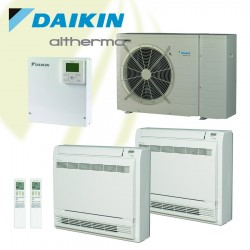 Daikin warmtepomp combi set - 5kW